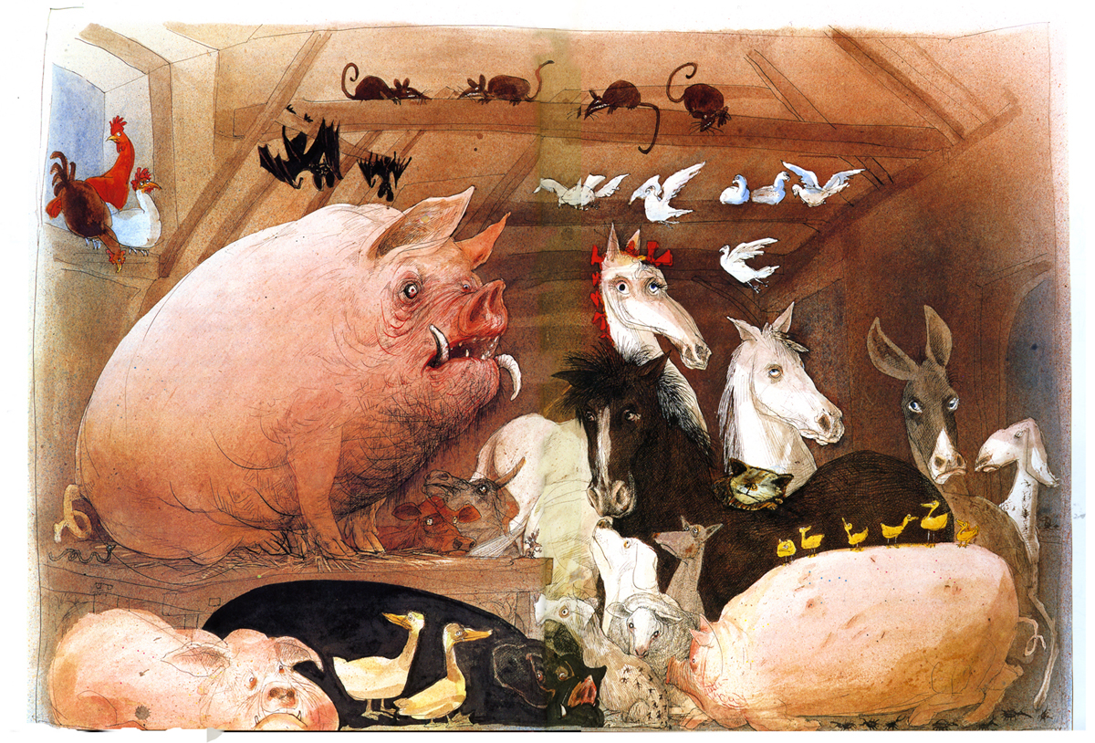 george orwell animal farm writing as i please steadman animal farm